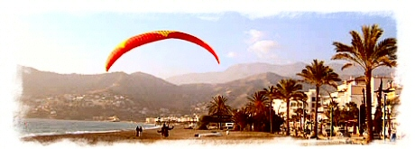Hang-gliding in Almunecar