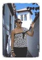 Michelle Obama takes a stroll in Granada