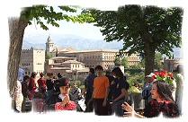 The Mirador de San Nicolas, Granada