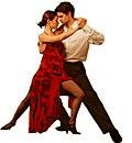 Spanish tango dancers