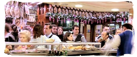 A typical Spanish bar